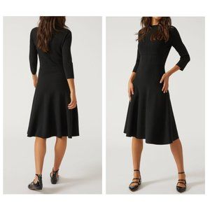 Emporio Armani | High Neck Fit & Flare Dress